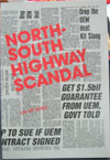 The North-South Highway Scandal (1987)